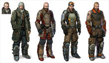Wesley Burt Costume design sci fi futuristic outfit star wars star trek