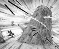 Yashamaru capturing Shougen around the rock.png