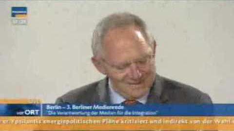 Schäuble und der Freudsche Versprecher - Informationskontrolle
