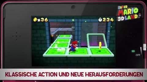 Super Mario 3D Land Trailer (German)