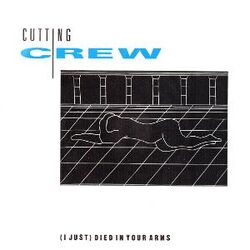 Cutting Crew - (I Just) Died in Your Arms single cover