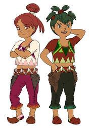Tik and Wacho