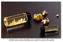 Gold-bottle