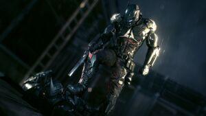 Arkham knight teaser poster