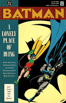 Batman- A Lonely Place of Dying (Collected)