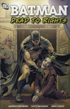 Batman dead to right