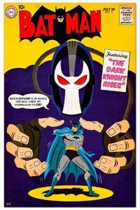 Batman Bane cover