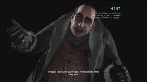 Batman Arkham Origins- Game Over The Penguin