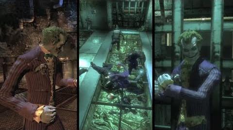 "Batman Arkham Asylum ""Play as Joker"" Trailer"