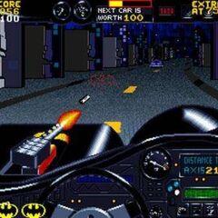Nivel con el Batmóvil
