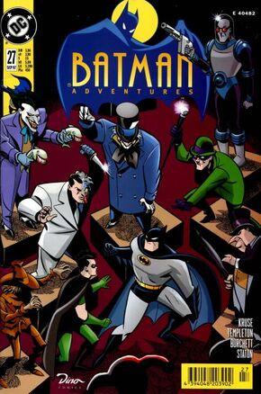 Batman adventurescover