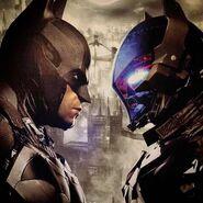 Bat vs Knight-faceOff
