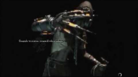 Batman Arkham Asylum Game Over Scarecrow end