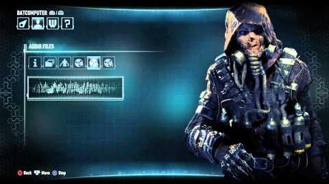 Batman Arkham Knight All Scarecrow Audio Logs