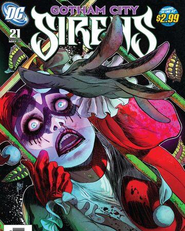 Gotham City Sirens Issue 21 Batman Wiki Fandom