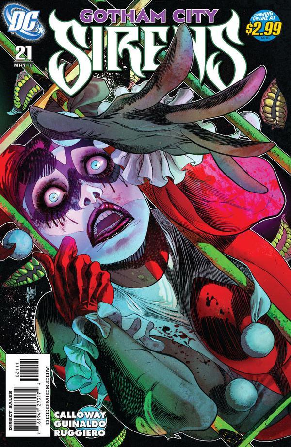 1056f637b5cfb0 Gotham City Sirens Issue 21