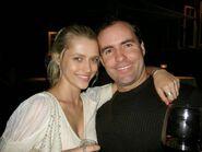 Greg van Borssum and Teresa Palmer
