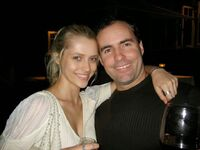 Greg van Borssum and Teresa Palmer