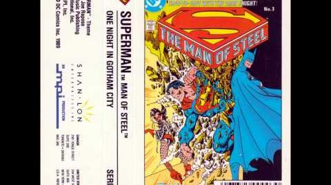 The Man of Steel (John Byrne's Superman mini-series) Audio Book Pt 3 (One Night in Gotham City)