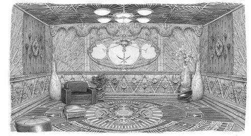 Wayne Manor room