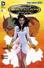Batman Incorporated Vol 2-2 Cover-2