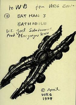 Giger Batman 3 Batmobile