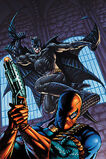 Deathstroke and Batman