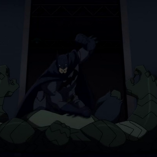 Batman vs. Killer Croc.