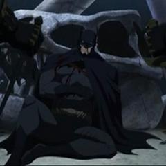 Batman es derrotado.