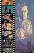 Batman 1989 comic book back