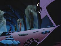 Batman Beyond - S01 E03 - Black Out - Fight with Inque 3 Trophy Costumes