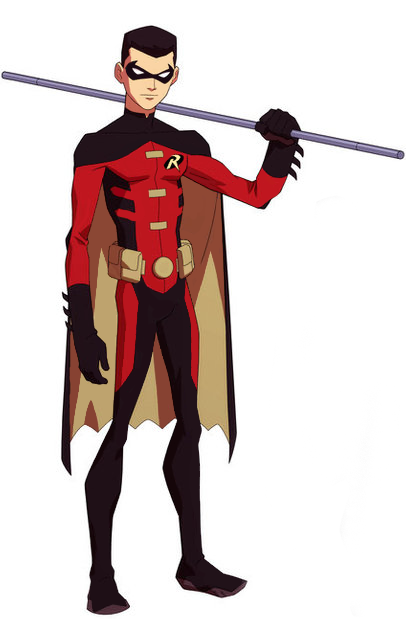 Young Justice Robin Jason Todd