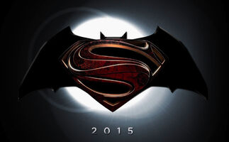 2015 Batman Superman logo