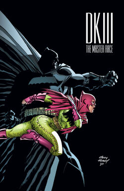 The Dark Knight III The Master Race Vol 1-6 Cover-3 Teaser