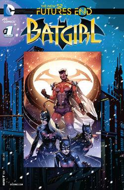 Batgirl Vol 4 Futures End-1 Cover-1