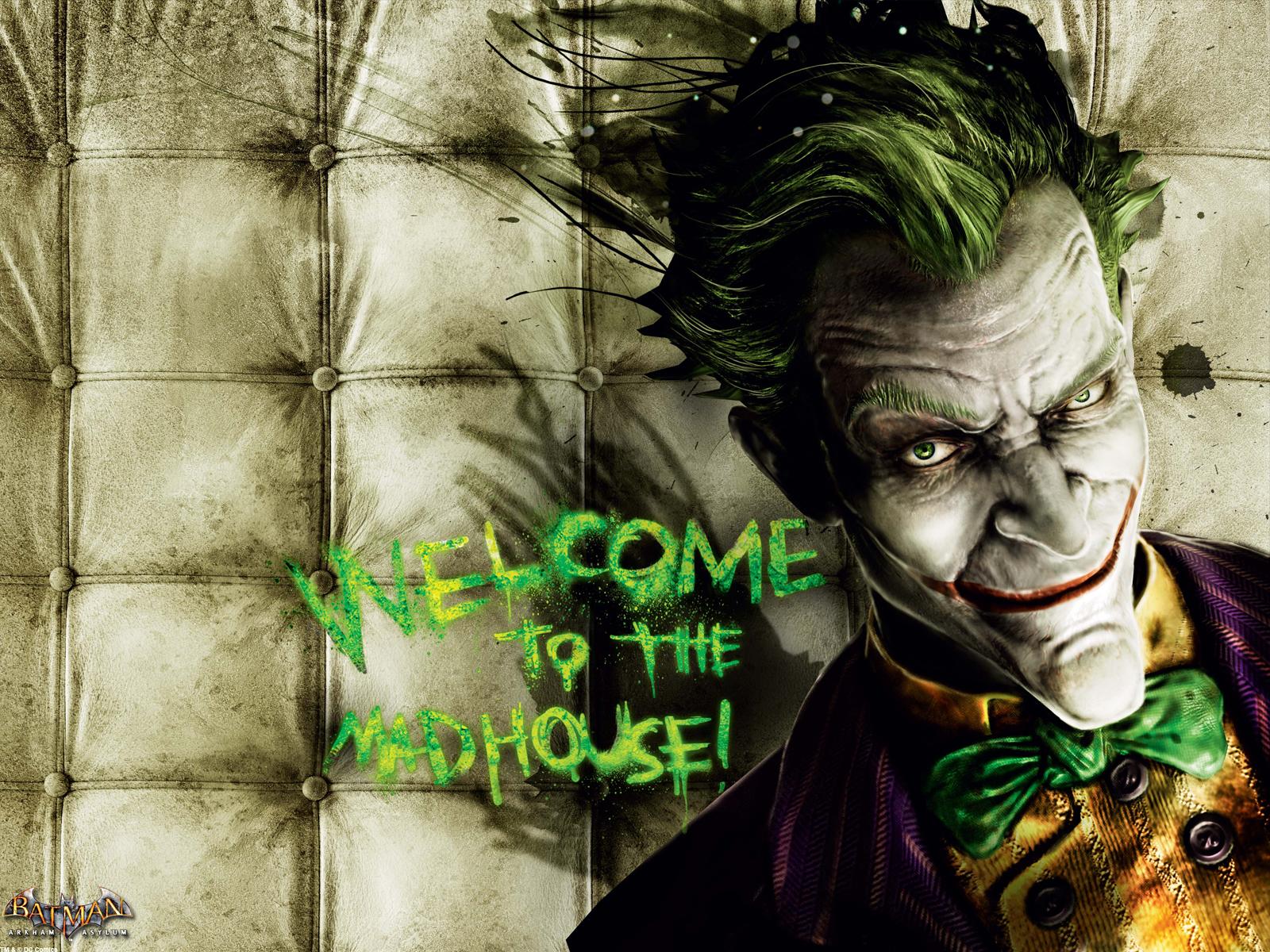 Batman Arkham Asylum Joker Wallpaper