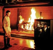 Wayne Manor Fireplace