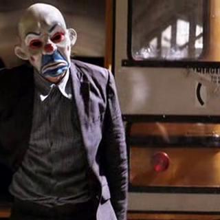 El Joker en el atraco al banco.