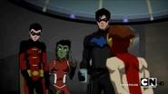 Robin embarrassed