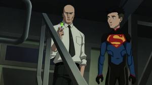 TROFS - Lex intenta acabar con Superboy