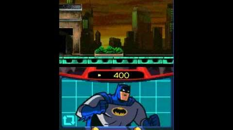Batman The Brave and The Bold - Nds gameplay