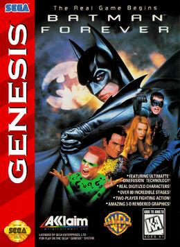 BatmanForever Genesis box art
