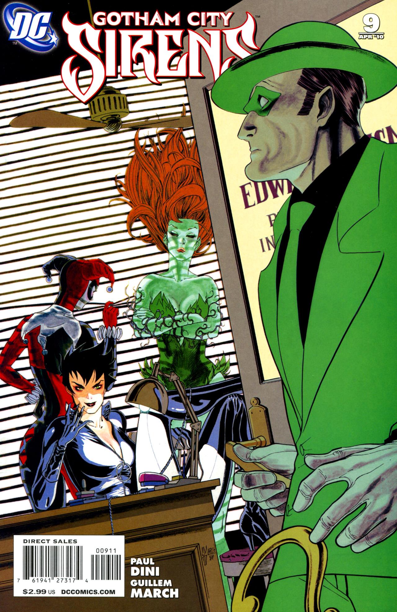 Gotham City Sirens Issue 9 Batman Wiki Fandom