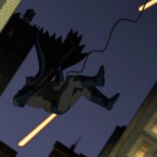 Batman cae al vació