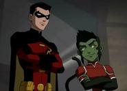 Robin and Beast Boy