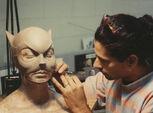 Sculpting Bening cowl