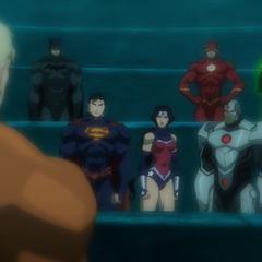 Aquaman se une a la Liga.