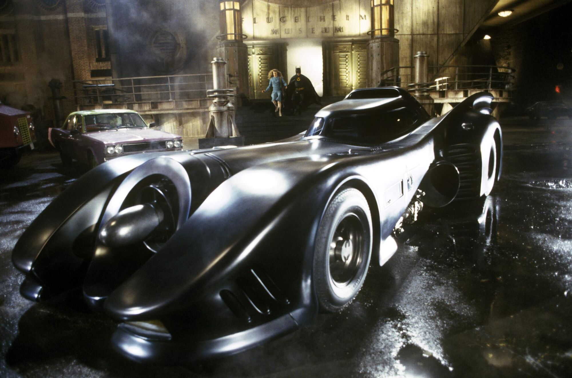 Image result for michael keaton batman car
