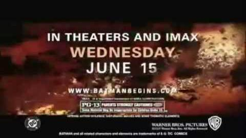 All Batman Begins Trailers and TV Spots