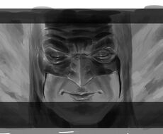 Batman closeup